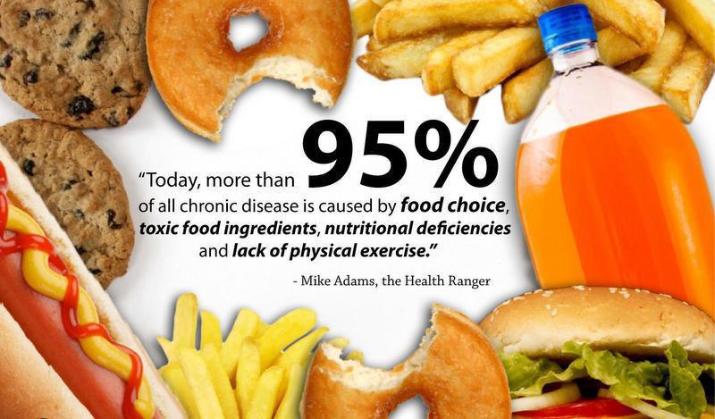 95 disease by food